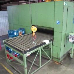 Sheet metal working / shaeres / bending - Roller leveller - KOHLER 120.1500 / 21 T