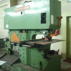 Sheet metal working / shaeres / bending - Section Shear - Combined - PEDDINGHAUS 100/160 H