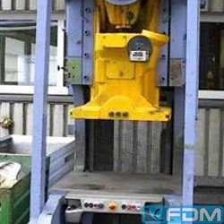 Eccentric Press - Single Column - WEINGARTEN ARP 80 (UVV)