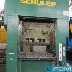 Presses - Double Column Press - mechanical - SCHULER SA 250