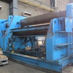 Sheet metal working / shaeres / bending - Plate Bending Machine - 4 Rolls - HAEUSLER VRM-hy 3500 65/55