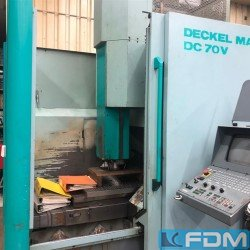 Machining Center - Vertical - DECKEL MAHO DC 70 V