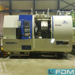 CNC Turning- and Milling Center - PFIFFNER-MANURHIN KMX-XL32