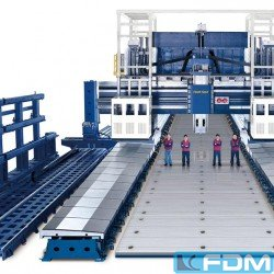 Milling machines - Double Column Milling M/C - Gantry Type - KRAFT SD(W)-24|SD(W)-28|SD(W)-32