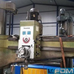 Radial Drilling Machine - INVEMA FR 65 2000
