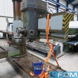 Radial Drilling Machine - WMW MAGDEBURG BR 56