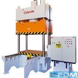 Hydraulic Try-out Press - Calende 110T - PH4C Tryout - 1990x1000