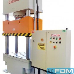 Hydraulic Try-out Press - Calende 160T - PH4C Tryout - 1670x800