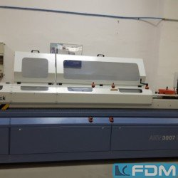 Edge bending machines - Edge banding machine - Hebrock AKV 3007 DK/F